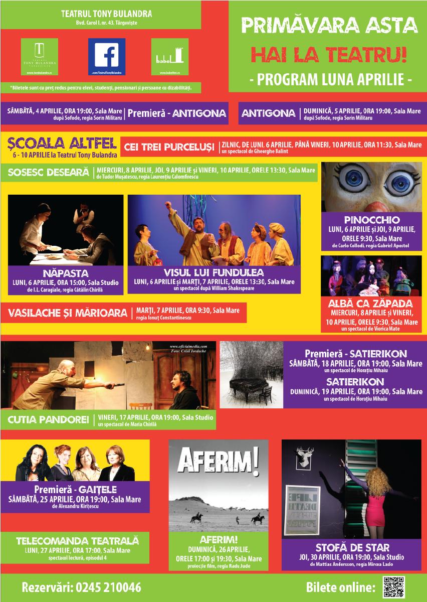 Program APRILIE-01
