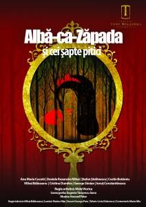 ALBĂ CA ZĂPADA ȘI CEI ȘAPTE PITICI @ Teatrul Tony Bulandra - Sala Studio | Târgoviște | Județul Dâmbovița | România