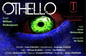 OTHELLO - Avanpremieră @ Teatrul Tony Bulandra - Sala Mare | Târgoviște | Județul Dâmbovița | Romania