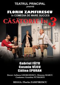 [:ro]CĂSĂTORIE ÎN TREI - Spectacol invitat[:en] - copie[:] @ Teatrul Tony Bulandra - Sala Mare