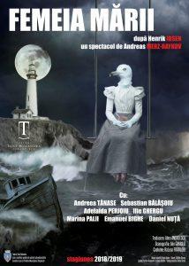 [:ro]FEMEIA MĂRII - Premieră[:] @ Teatrul Tony Bulandra - Sala Mare