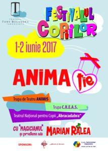 [:ro]Festivalul copiilor ANIMA-ȚIE 2017[:] @ Teatrul Tony Bulandra | Târgoviște | Județul Dâmbovița | România
