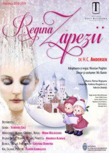 REGINA ZĂPEZII @ Teatrul Tony Bulandra - Sala Mare