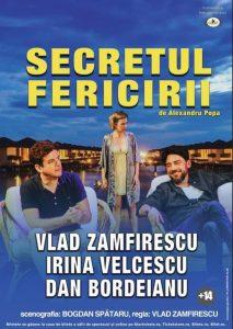 [:ro]SECRETUL FERICIRII - Spectacol invitat[:en][:] @ Teatrul Tony Bulandra - Sala Mare