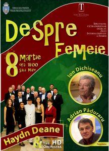 DESPRE FEMEIE - Spectacol extraordinar @ Teatrul Tony Bulandra - Sala Mare