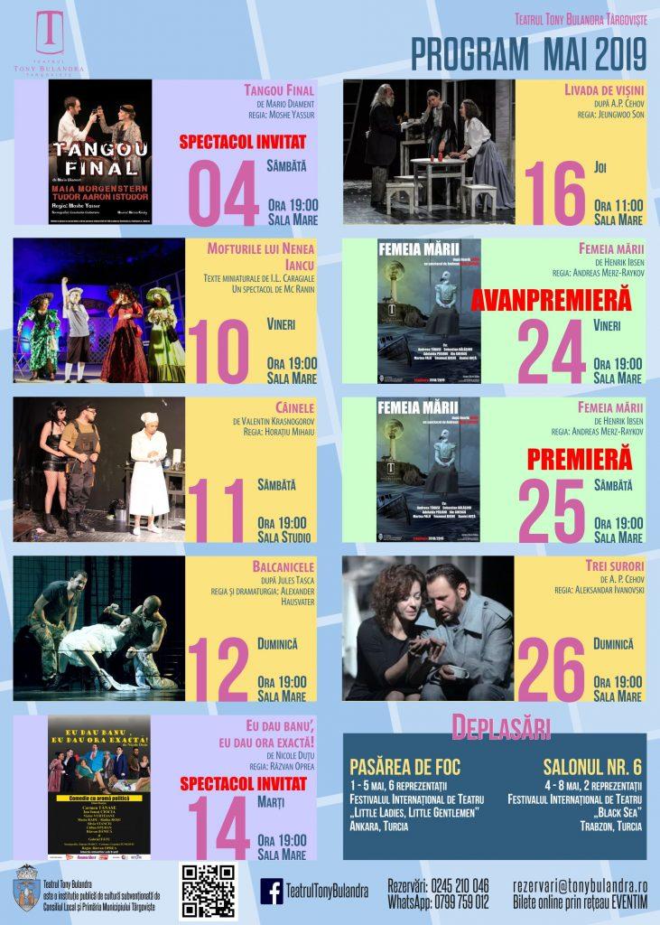 Program Spectacole 2018-2019
