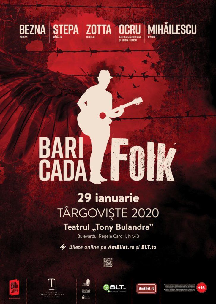 [:ro]BARICADA FOLK[:] @ Teatrul Tony Bulandra - Sala Mare