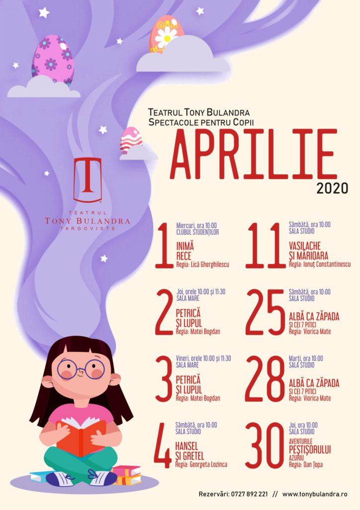 Program Spectacole Copii 2019-2020