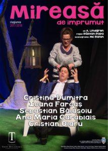 [:ro]MIREASĂ DE ÎMPRUMUT[:] @ Teatrul Tony Bulandra - Foaier | Târgoviște | Județul Dâmbovița | Romania