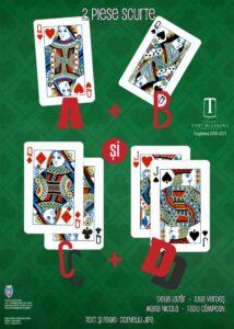 [:ro]A+B și C+D - Premieră[:] @ Teatrul Tony Bulandra - Sala Mare